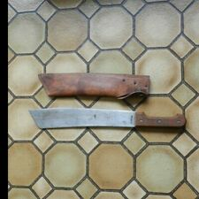 "Vintage French Sengalese Coup-Coup Colonial Soldiers Machete Knife 14 1/2"" Blade"