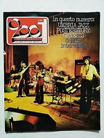 RARE CIAO 2001 32/33-1976 +POSTER GENESIS -GOBLIN-UMBRIA JAZZ-BENNATO-STEELY DAN