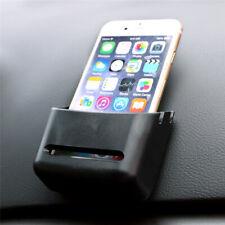 Self Adhesive Car Mobile Phone Box Pocket Organiser Storage Phone Holder ONE
