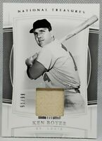 💎Ken Boyer National Treasures Game Used Jersey Relic St Louis Cardinals⚾