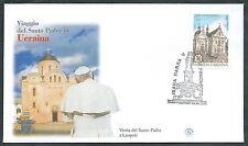 2001 VATICANO VIAGGI DEL PAPA UCRAINA LEOPOLI - SV10