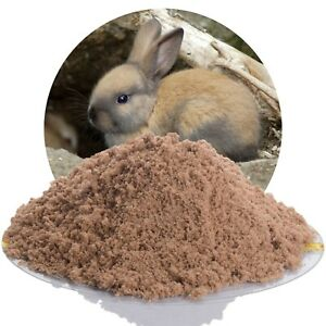 (0,66€/kg) 25 kg Kaninchensand für Buddelkiste, Kaninchen Hasen Nager Buddelsand