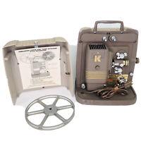 Vintage Keystone 8mm Film Movie Projector Model K100G Works Great Needs Bulb