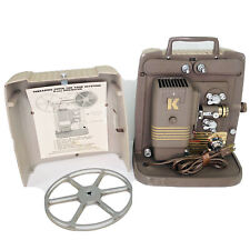 Vintage Keystone 8mm Film Movie Projector Model K100G Works Great Needs Bulb