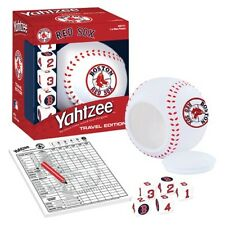 MLB Boston Red Sox Yahtzee, The Classic Shake, Score & Shout Dice Game,Travel