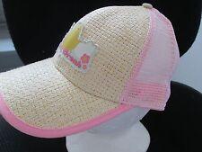 Peeps Spring Break Straw one size Pink Baseball Hat