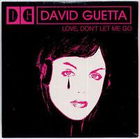 DAVID GUETTA Love, Don't Let Me Go 2002 French 2-trk promo CD SEALED