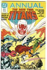 THE NEW TEEN TITANS ANNUAL #2 (JOHN BYRNE) 1986 NM/9.0 COMBINED SHIPPING