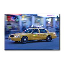 "cc art - CANVAS PRINT ARTWORK - NEW YORK CAB -24""x36"""