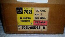 Allen-Bradley AC Lighting Contactor 702L-A0D92 Series K