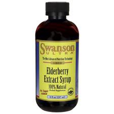 Swanson Elderberry Extract Syrup 8 fl oz (237 ml) Liquid