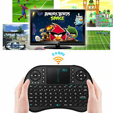Rii mini i8 Black Wireless Keyboard with Touchpad for smart TV PC from AU
