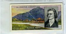 (Ga6225-202) Smith, Famous Explorers, #8 Mungo Park 1911 VG