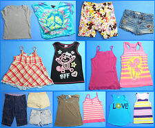 15 Piece Lot of Nice Clean Girls Size 7 Spring Summer Everyday Clothes ss211