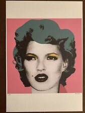 BANKSY - Litho signed and numbered on paper - KATE MOSS