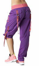 Authentic New Zumba Throwback Electro Cargo Pants ~ Perfect Purple  ~  XS  ~ NWT