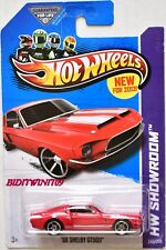 HOT WHEELS 2013 HW SHOWROOM '68 SHELBY GT500 RED