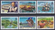 Guernsey 1982 Centenary of Societe Guernesiaise Set UM SG253-8 Cat £2.80