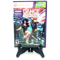 Dance Central Microsoft Xbox 360 Kinect Complete Game Case Manual Mint
