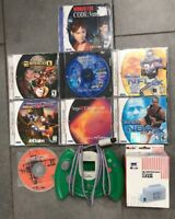 Sega Dreamcast Lot. Resident Evil. Evolution. Accessories. Please Read Descrip!