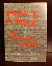 Linton Kwesi Johnson Inglan is a Bitch 1980 1st Edition 1st Printing Jamaica