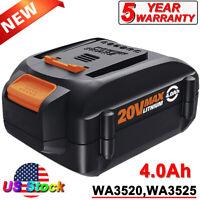 WA3520 WA3525 20V For WORX WA3578 20v MVX 4.0Ah Lithium Ion Battery WA3575 Tools