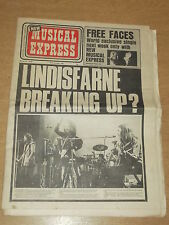 NME MARCH 31 1973 LINDISFARNE BREAK UP?