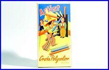 KURZ Buntstifte Artist Cowboy Zirkus Manege Deutschland 50 Jahre Creta Polycolor