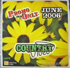 "Promo Solo ""junio de 2006 país/Christian"" DVD compilación 37 pistas"