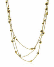 Marco Bicego 18k Yellow Gold Diamond Confetti Gemme Necklace CB1150-B