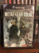 METAL GEAR SOLID TWIN SNAKES DISC 2 Cover Manual Only Nintendo Gamecube NoDisk 1