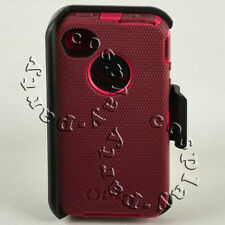Defender Hard Case Cover w/Belt Clip fit Otterbox For iPhone 4 / iPhone 4s NEW
