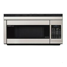Sharp R1874T, 1.1 Cubic Feet, 850 Watt, Otr Convection Stainless Steel Microwave