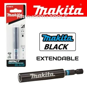 Makita Bit Holder Black Range Impact Torsion Magnetic Extendable Holder Guide
