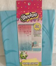 """Shopkins Shower Curtain 72"""" X 72"""" 100% Polyester"""