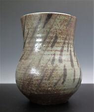 Mid Century Studio Pottery Vase Signed