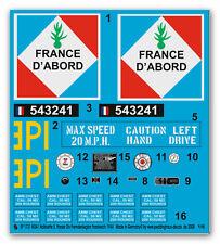 1/6 EP 1731 M3 A1 Half-Track 5.Franz Panzerdiv. Der Fremdenlegion 1944 France