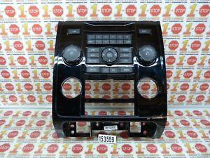 2009-2011 MAZDA TRIBUTE ESCAPE RADIO CONTROL FACE PANEL 9L8T-18A802-ABW OEM