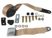 BEETLE Seat Belt, Front, 3pt Inertia, Chrome Buckle, Cream - 111857691CCRM