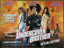 Undercover Brother - Original UK Quad Poster 40 x 30 inches - Eddie Griffin