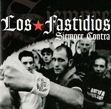 LOS FASTIDIOS - SIEMPRE CONTRA CD (2004) ITALIEN STREETPUNK