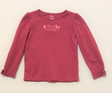 """Gymboree """"Butterfly Girl"""" Social Butterfly Pink Long Sleeve Top, 6"""