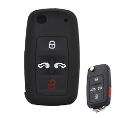 For VW Transporter T5 T6 Multivan Seat Alhambra Silicone Key Cover Case Fob