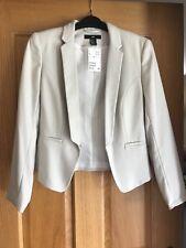 Ladies H&M cream blazer style jacket uk size 10- perfect condition