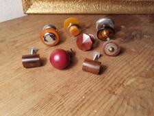 8 assorted art deco TESTED bakelite Pull handles knobs 178 grams-0,392 lb(s21153