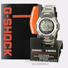 Casio MTGM900DA-8CR G Shock Digital Stainless Steel Men's Watch - Silver