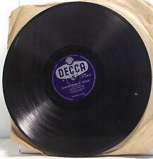 """GRACIE FIELDS Summertime In Venice 78 rpm 10"""" Record Shellac"""