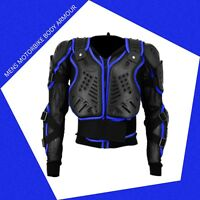 Motorbike Motorcycle Motocross Full Body Armour Protection Spine Protector Black