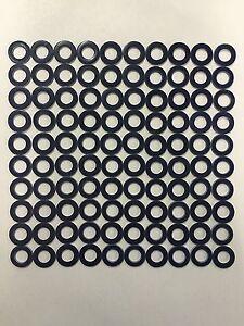 100: OE Spec Blue Teflon Drain Plug Washer Gaskets For Toyota 90430-12031