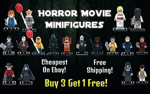 Horror Movie Minifigures CHEAPEST UK SELLER FREE SHIPPING